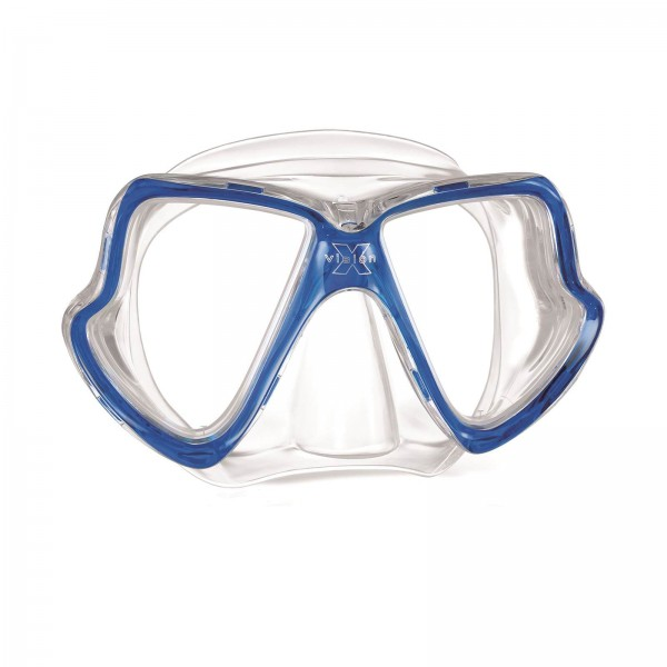 Mares X-Vision Mid (klar/klar/blau)