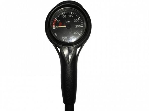 Finimeter Slim Line Black 400bar / Pressure Gauge