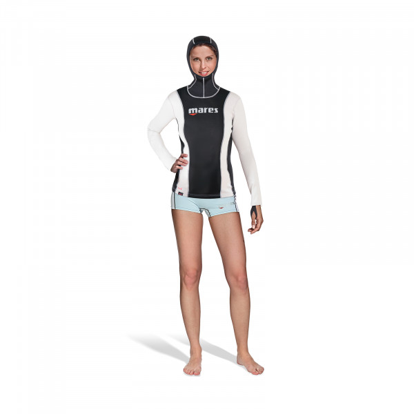 Mares Fire Skin SheDives Long Sleeve with Hood