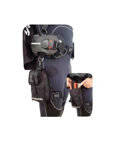 Scubapro Hydros Pro Oberschenkeltasche
