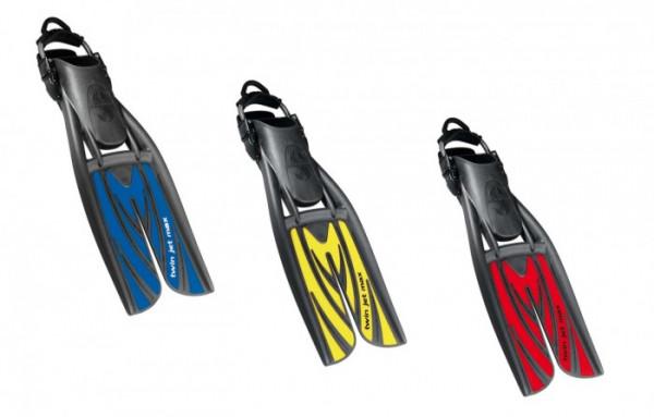 Scubapro Twin Jet Max Geräteflosse inkl. Spring Straps