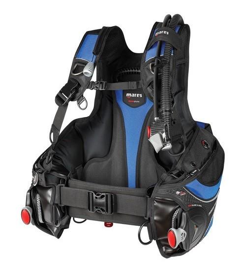 Mares Prestige SLS Blue Tarierjacket