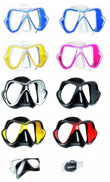 Mares X-Vision Ultra LiquidSkin Tauchermaske New 2014 mit optischen Gläsern