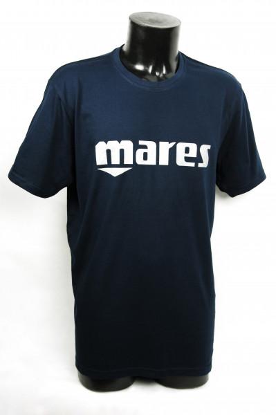 Mares Logo T-Shirt blau
